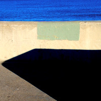 Seawall and Shadow